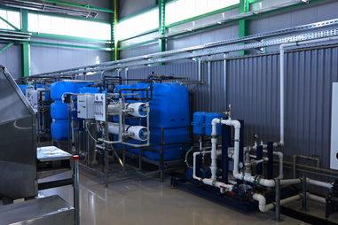 Монтаж оборудования очистных сооружений